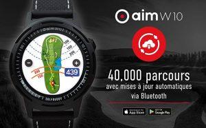 Montre de golf GolfBuddy W10 Télémètre image_4